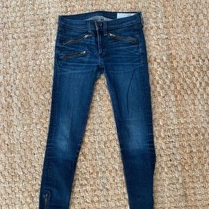 Rag & Bone jeans w/ zipper